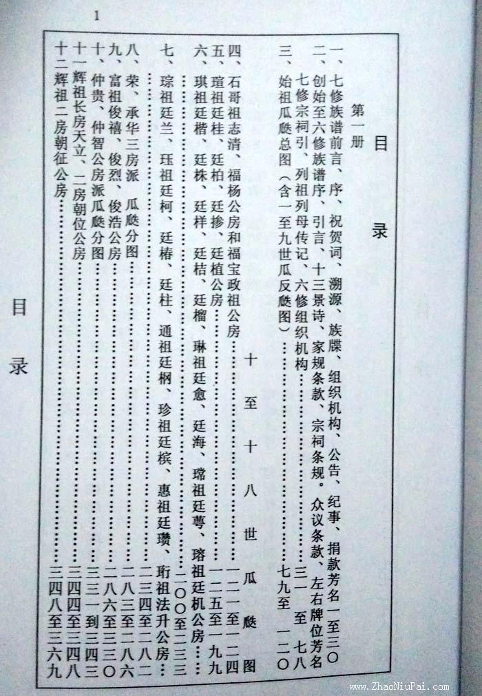 《连平上坪谢氏族谱》局部