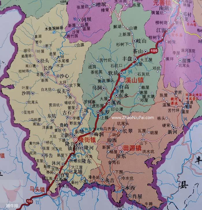长吉图:溪东、田源、大田、沐河、双岭
