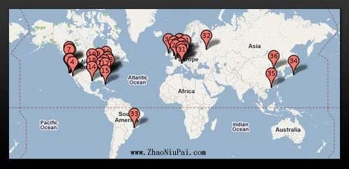 Google数据中心-全球