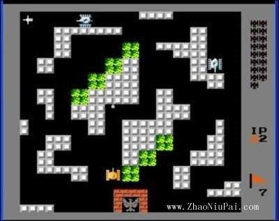 小霸王游戏机和那些游戏:坦克大战