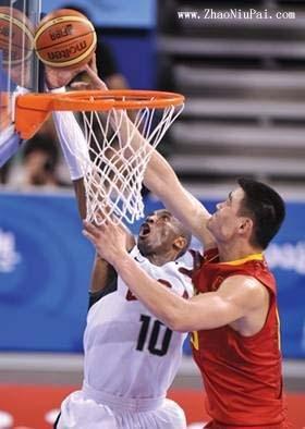 中国男篮VS美国梦八队