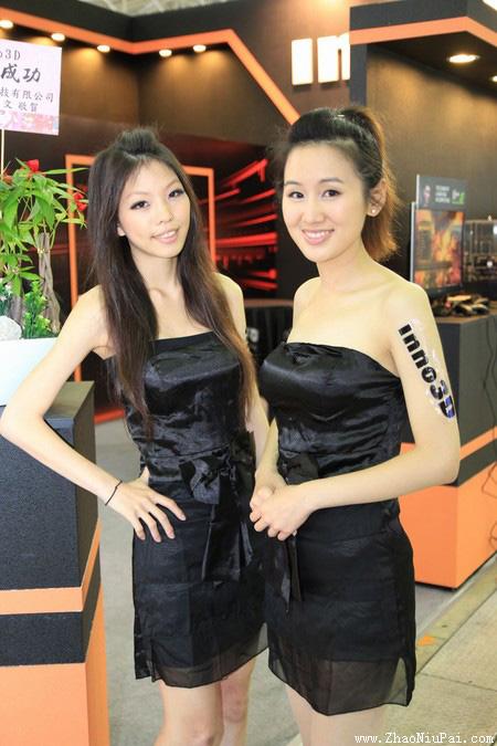 2012年台北电脑展最美的Show Girl