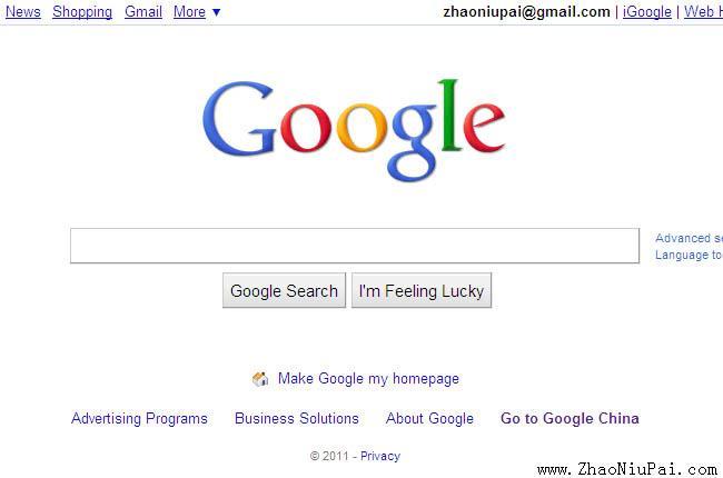 Google.com.hk无法访问,请用Google.com/ncr