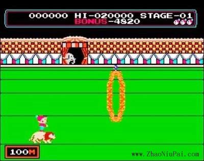 小霸王游戏机和那些游戏:马戏团