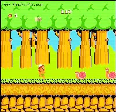 小霸王游戏机和那些游戏:冒险岛