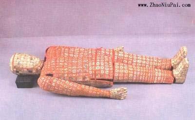 南越王墓丝缕玉衣