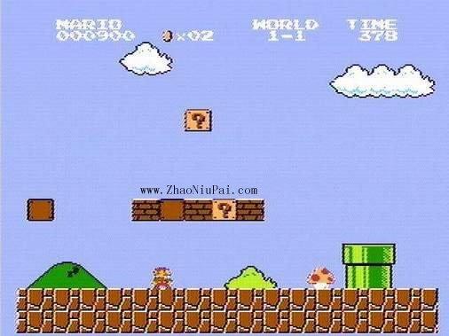 小霸王游戏机和那些游戏:超级玛丽
