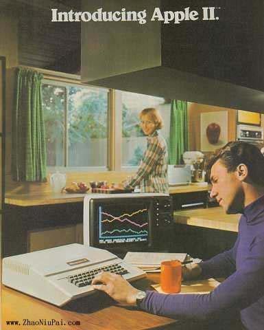 曾经的50大最好的科技产品:Apple II型计算机的广告